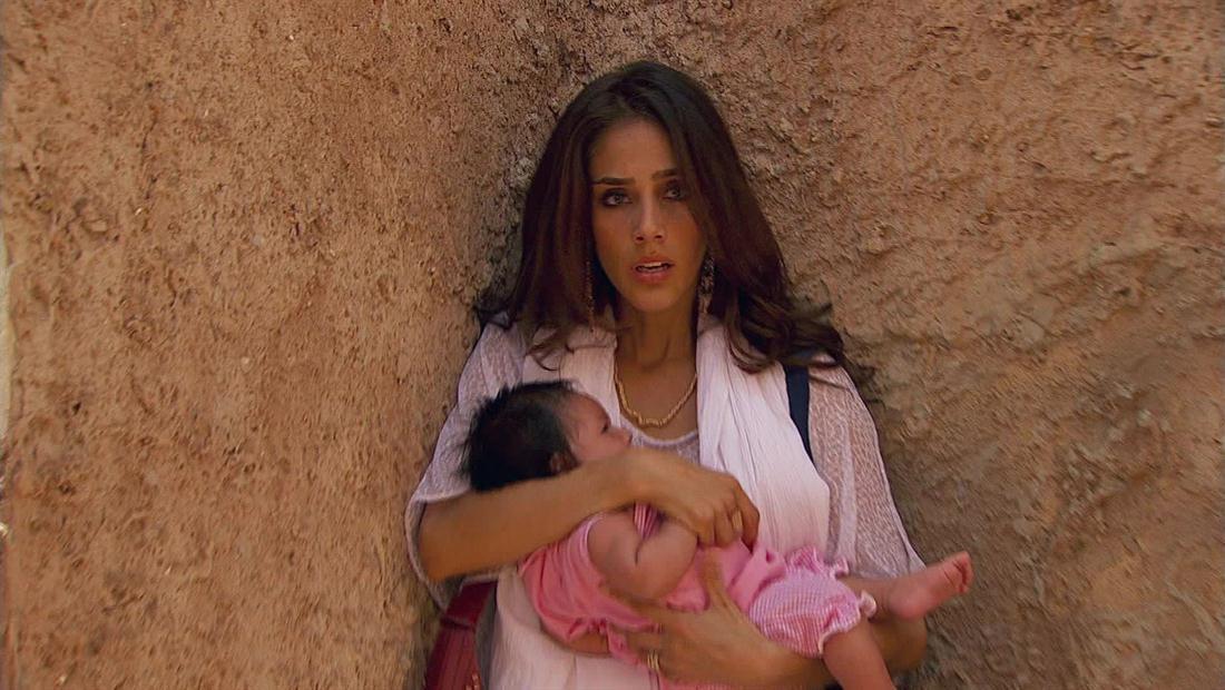 Jade pelea por su hija
