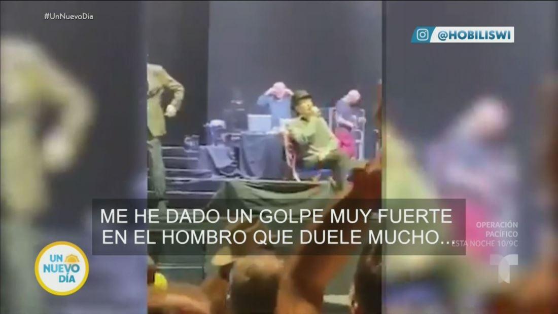 Joaquín Sabina será operado de un hematoma craneal tras caer del escenario