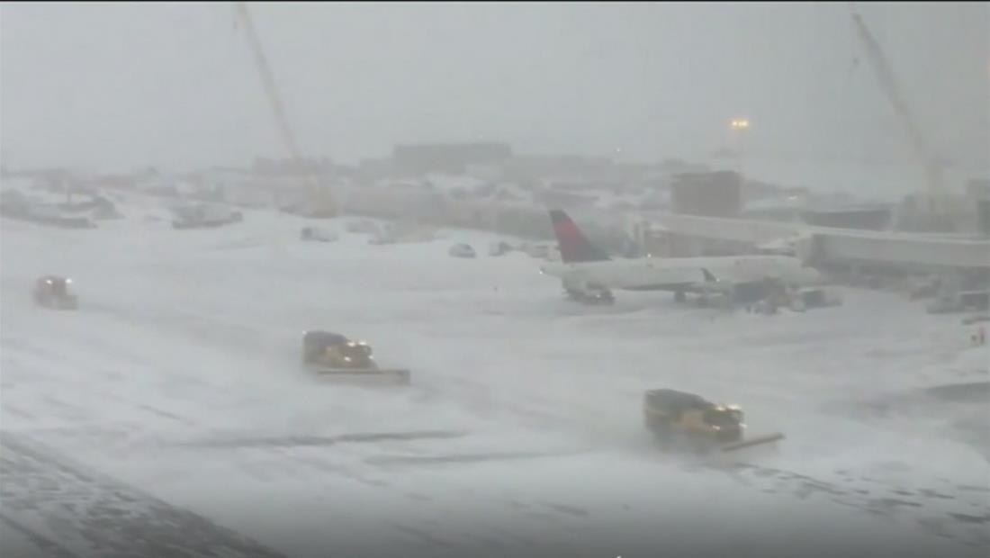 Tormenta invernal se extiende y se dirige al noreste de EE.UU.