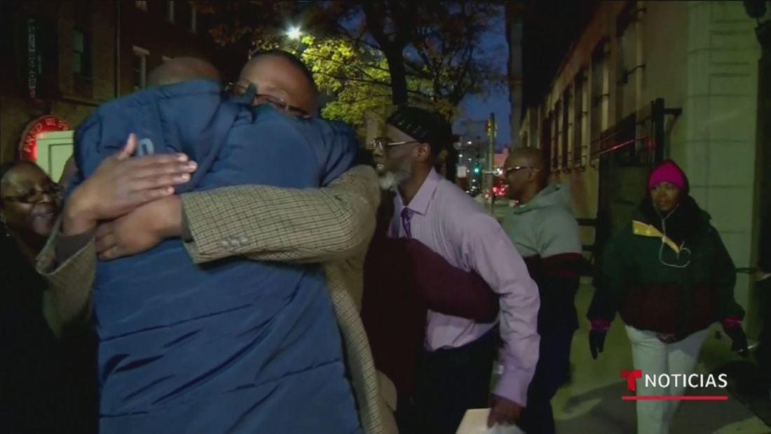Tres hombres afroamericanos salen de prisión tras pagar 36 años de una condena injusta