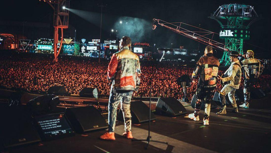 Piso 21 hizo historia en su primera participación en Rock In Rio