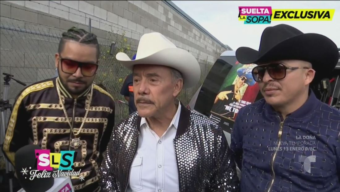 Don Pedro Rivera reacciona a los bailes sensuales de Chiquis y Lorenzo
