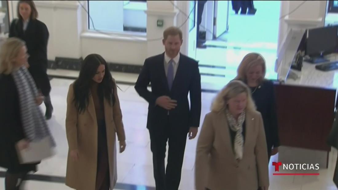 Realeza británica convoca una reunión para discutir la salida del príncipe Harry
