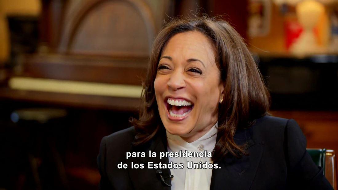 Demócrata Kamala Harris