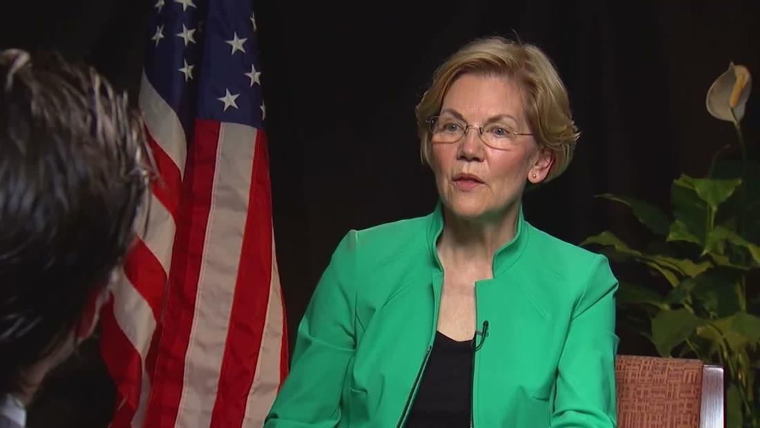Demócrata Elizabeth Warren