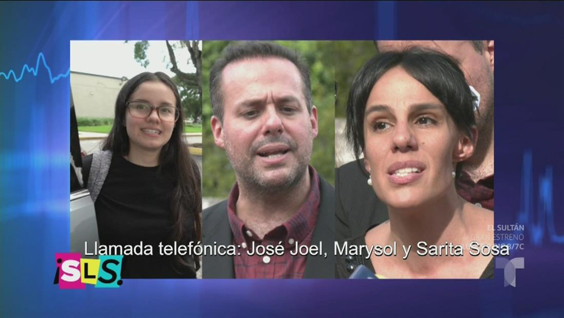 José José: Filtran llamada entre sus hijos el mismo día de su muerte (VIDEO)