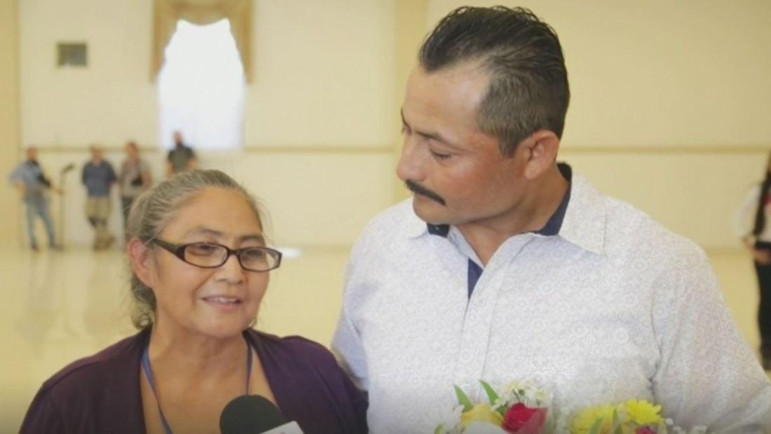 Madre salvadoreña se reencuentra con sus hijos luego de 31 años buscándolos