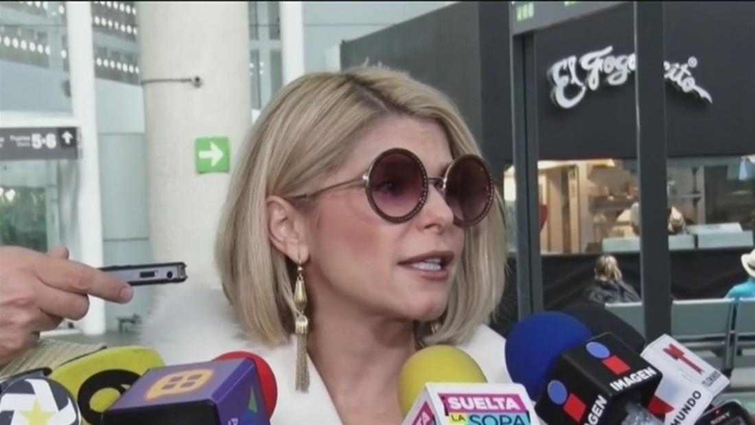 Itatí Cantoral opina sobre la pelea entre los hijos de José José (VIDEO)