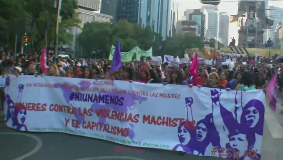 Más de 800 mujeres han sido asesinadas en México durante el 2019