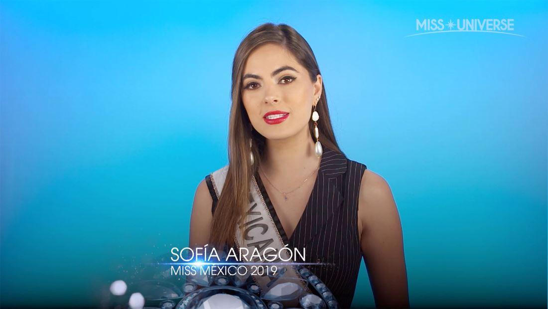 Entrevista a Sofía Aragón, Miss México 2019: Thor, la escritura y mucho más