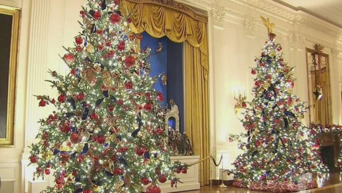 Melania Trump revela la impresionante decoración navideña de la Casa Blanca