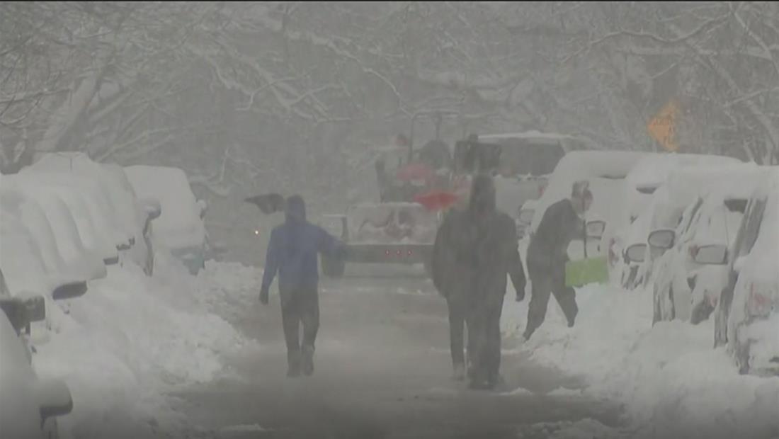 Cierre de escuelas, vuelos cancelados y restrasos: tormenta invernal provoca caos en el noreste de EE.UU.