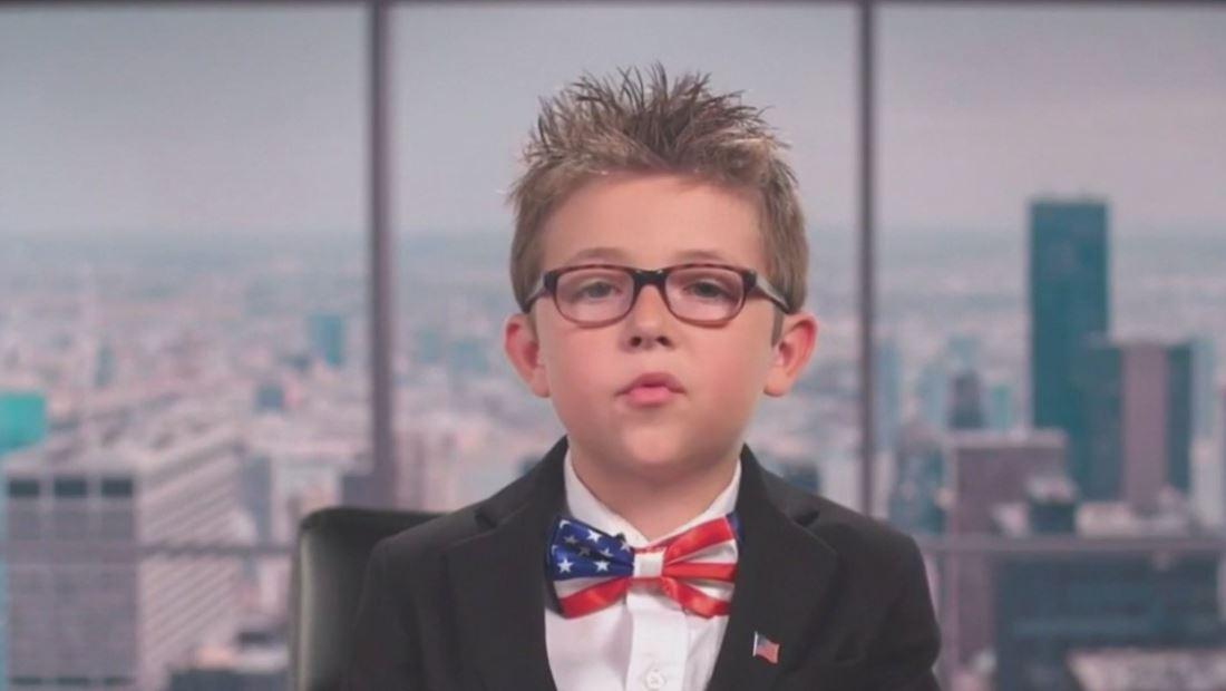 Niño le propone un trato millonario a Donald Trump