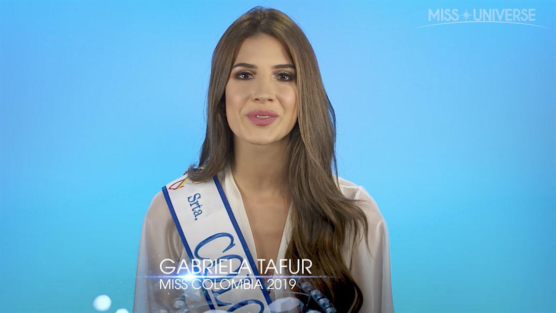 Entrevista a Gabriela Tafur, Miss Colombia 2019: Una reina musical, abogada y humanitaria