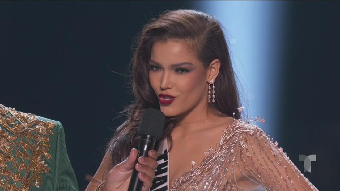 Miss Universo 2019 Top 5: así fue la respuesta de Miss Tailandia