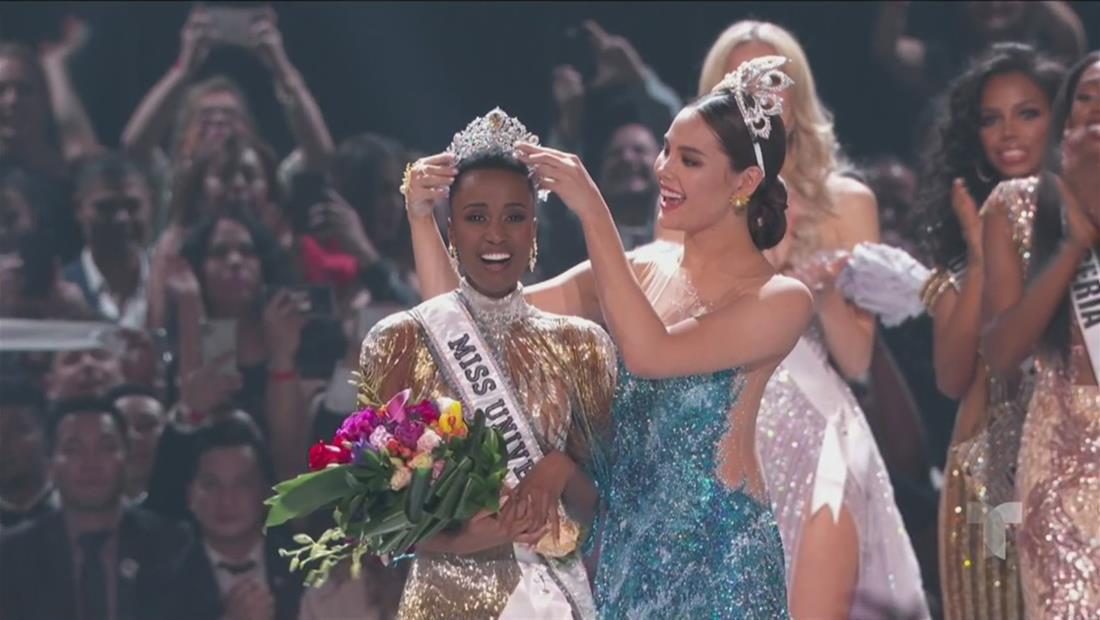 Miss Universo 2019: Miss Sudáfrica Zozibini Tunzi es la ganadora