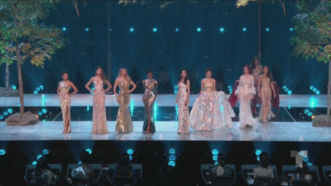 Miss Universo 2019: estas son las 10 semifinalistas en traje de gala