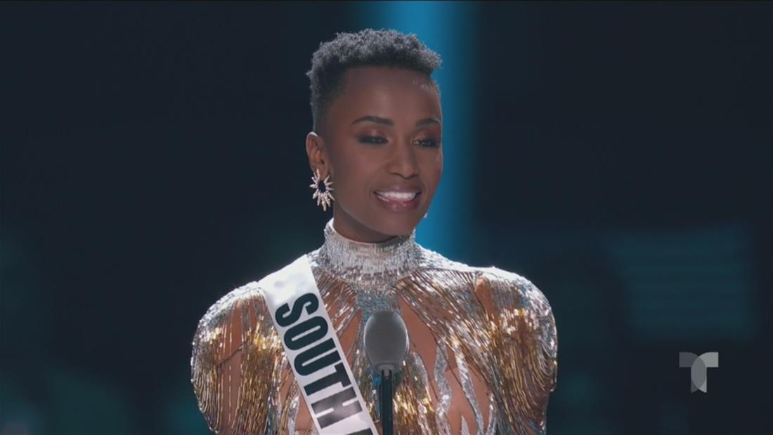 Miss Universo 2019 Top 3: Miss Sudáfrica y su declaración de cierre