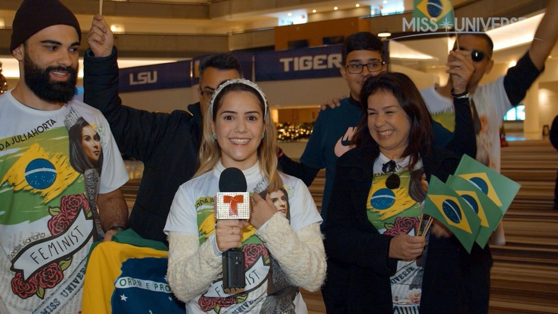 Miss Brazil 2019: Julia Horta's Family Supports Her During Miss Universe 2019