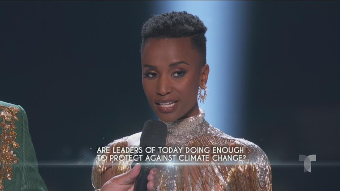 Miss Universo 2019 Top 5: así fue la respuesta de Miss Sudáfrica