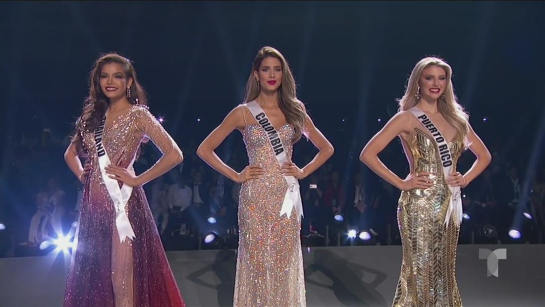 Miss Universo 2019: estas son las 3 finalistas
