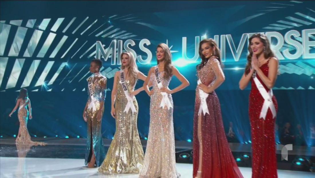 Miss Universo 2019: estas son las 5 semi- finalistas