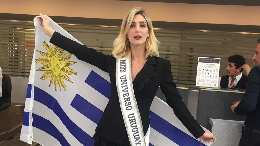 Fiona Tenuta es la candidata de Uruguay en Miss Universo 2019