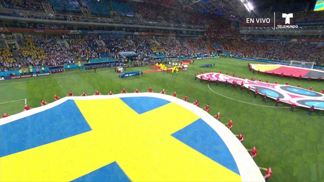 Grupo F:Alemania v Suecia