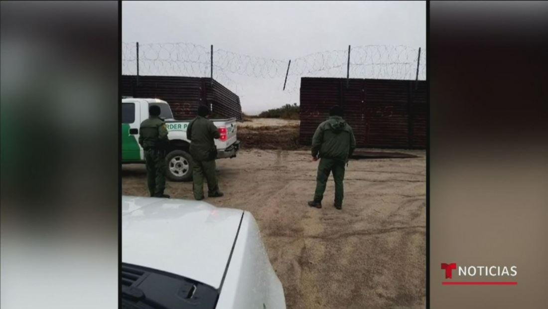 Coyotes cortaron la valla fronteriza y lograron cruzar con su camioneta