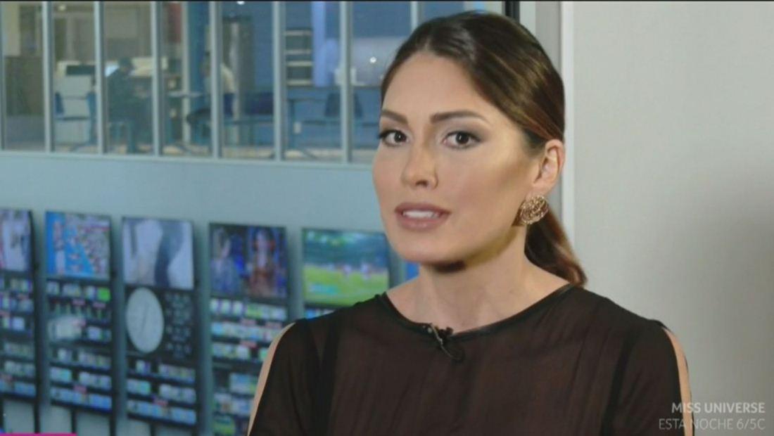 Gabriela Isler defiende su derecho de llenar los zapatos de un 'czar' (VIDEO)