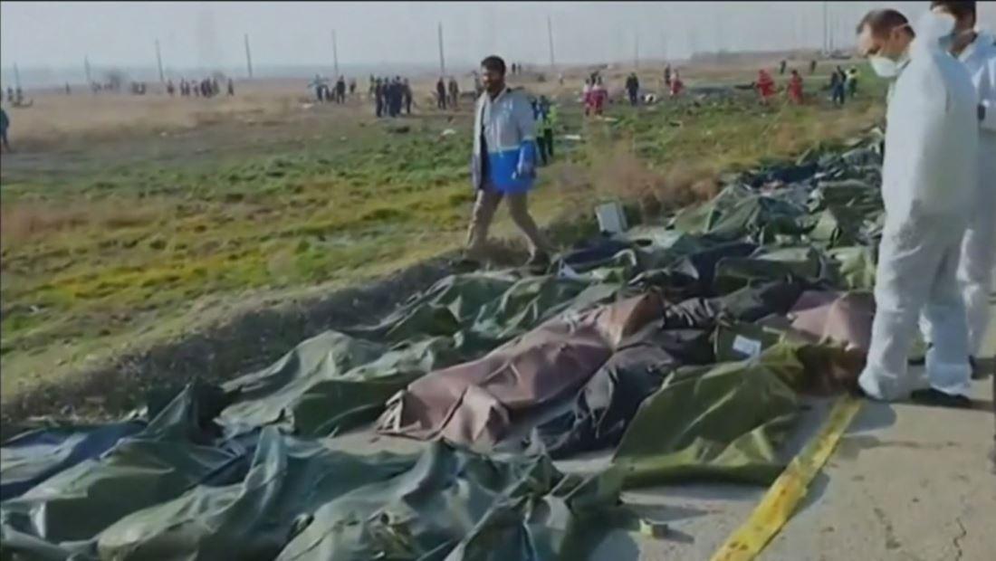 La evidencia sugiere que el avión ucraniano accidentado pudo ser derribado por un misil iraní