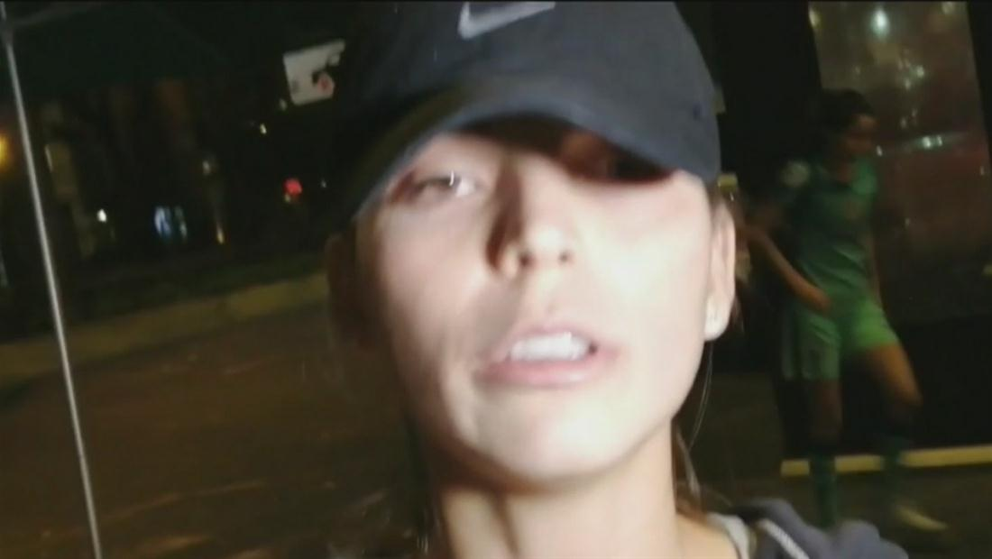 Hermana de Ana Bárbara enfurece con la prensa tras secuestro (VIDEO)