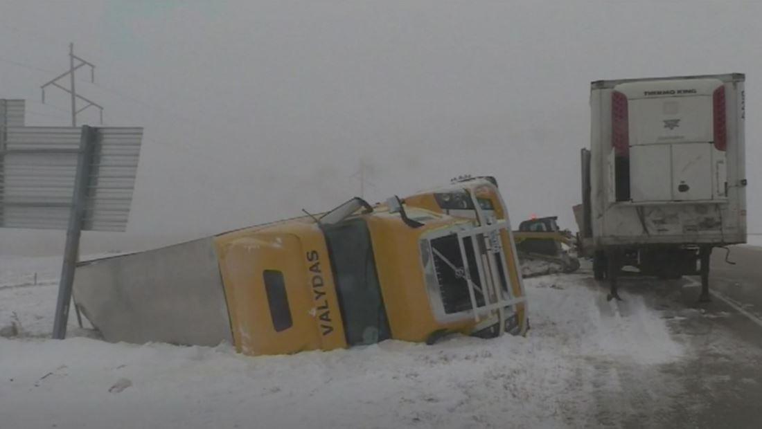Alerta por una segunda ronda de tormentas invernales en el noreste del país