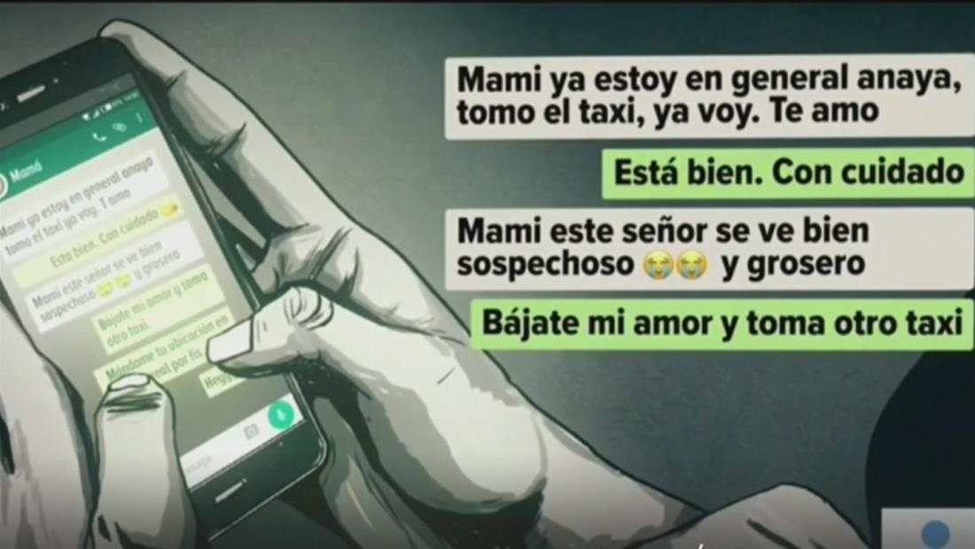 Indignación en México por el caso de una joven que se pensaba había sido secuestrada por un taxista