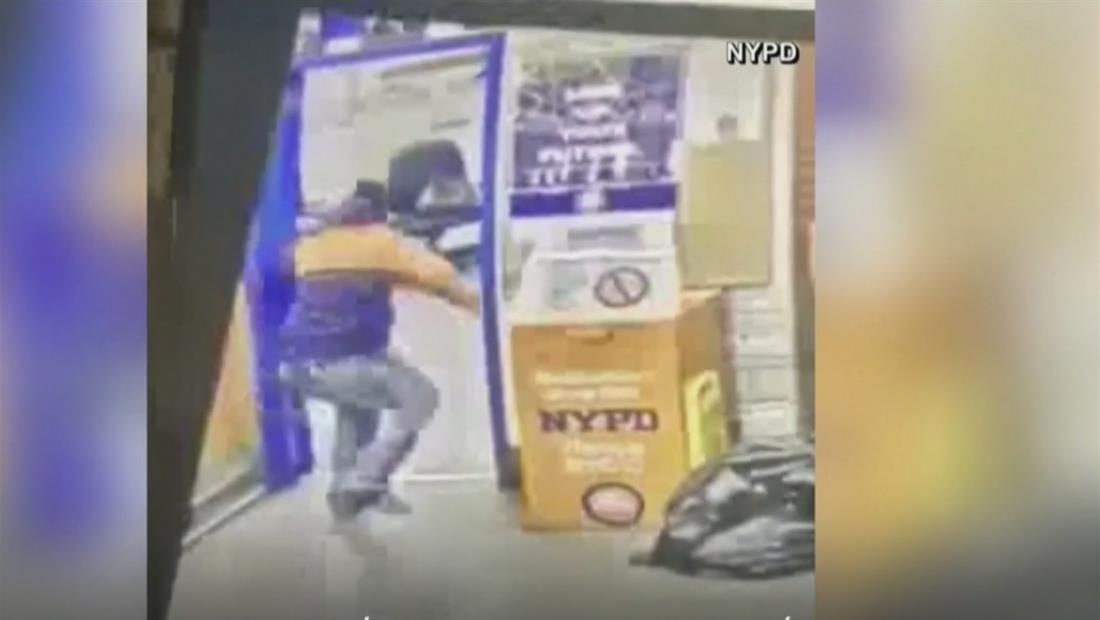 En solo 12 horas, un sujeto realizó dos ataques a policías de Nueva York