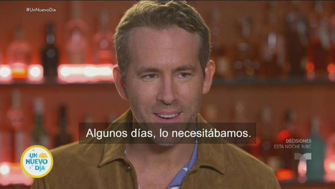 Ryan Reynolds, Adria Arjona y Manuel García Rulfo en nueva película de acción