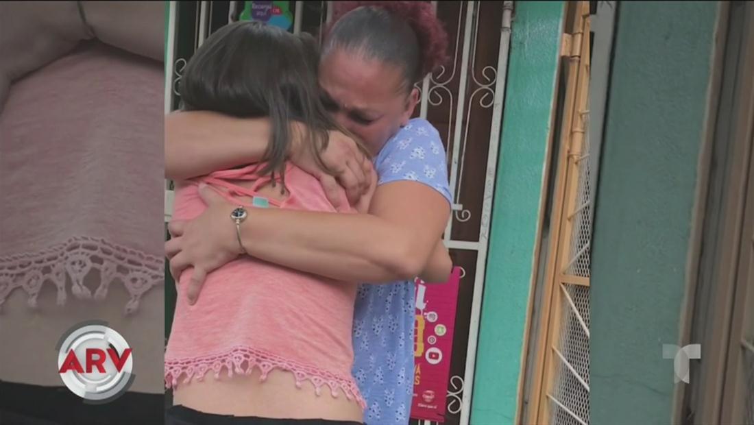 Madre puertorriqueña se reencuentra con su hija perdida hace 10 años