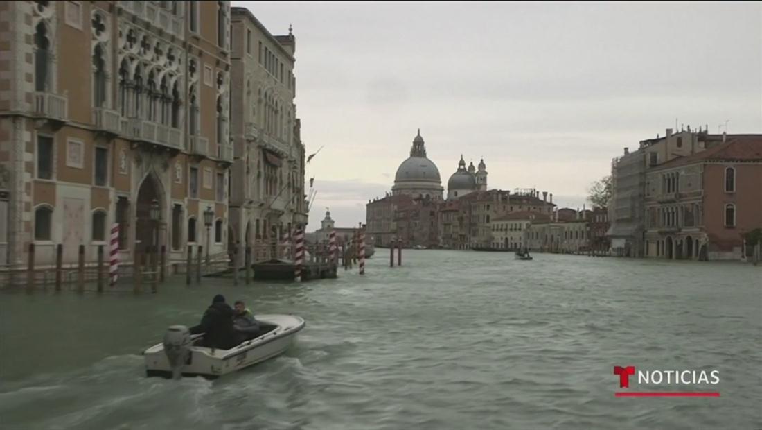 Declaran estado de emergencia en Venecia por inundaciones históricas