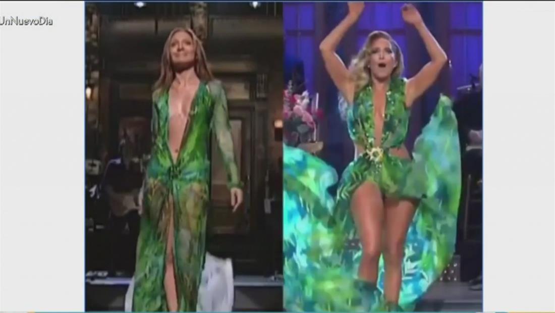 Jennifer López sorprendió a todos en el programa de SNL