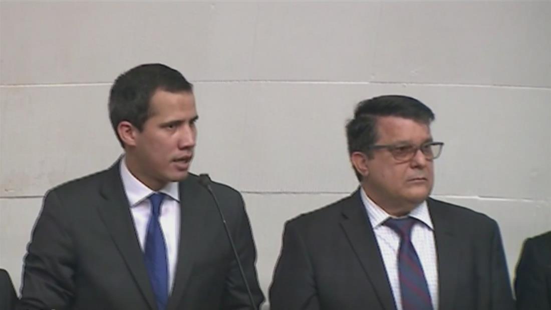 Juan Guaidó y diputados de oposición retoman la Asamblea Nacional en Venezuela