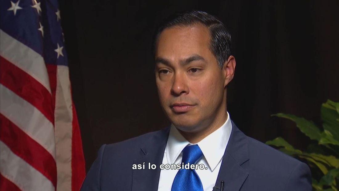 Demócrata Julián Castro
