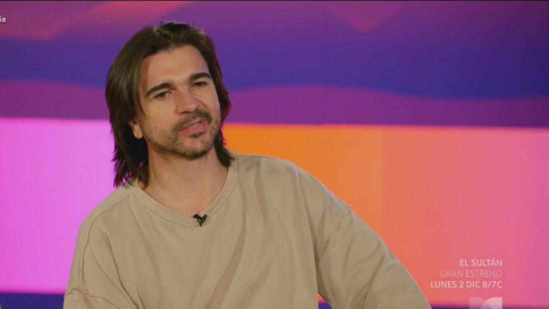 Juanes asegura que su familia lo enriqueció como artista
