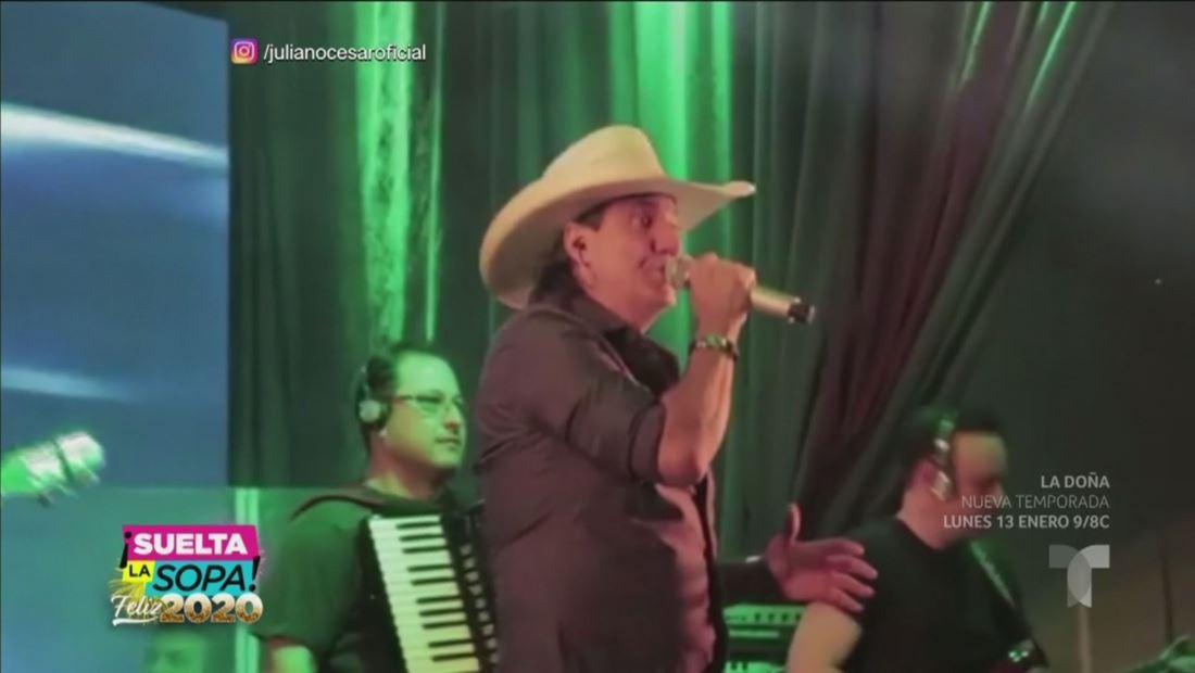 Juliano Cezar, cantante brasileño, muere de infarto en pleno escenario