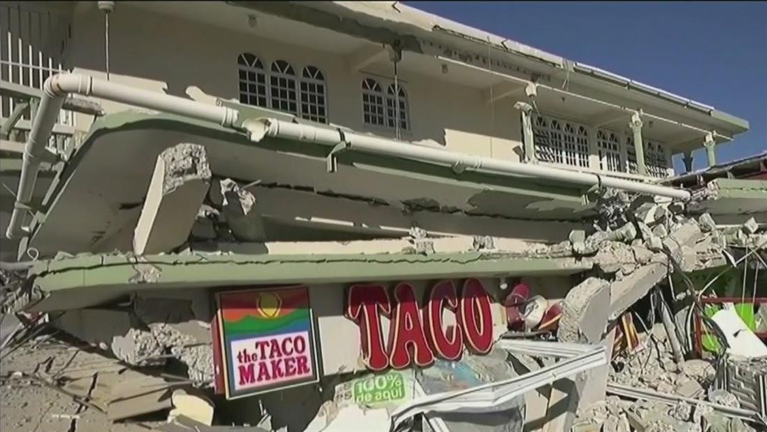 Gran parte de Puerto Rico sigue sin electricidad ni agua por los continuos sismos