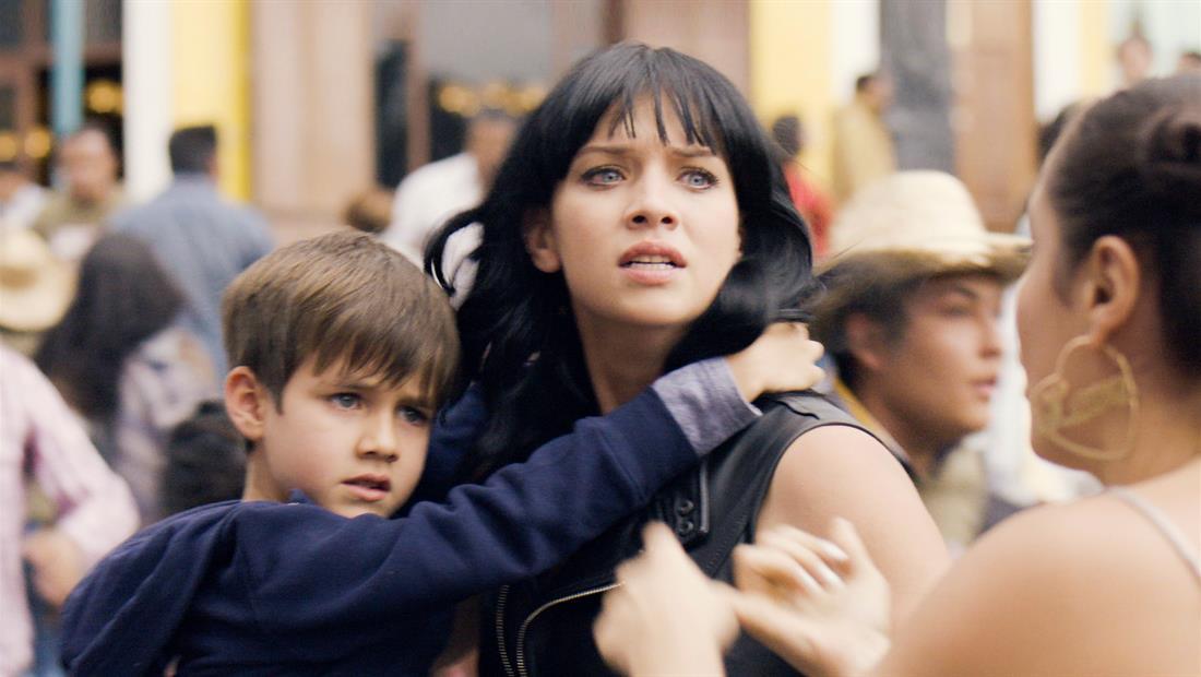 Vicenta rescata a su hijo