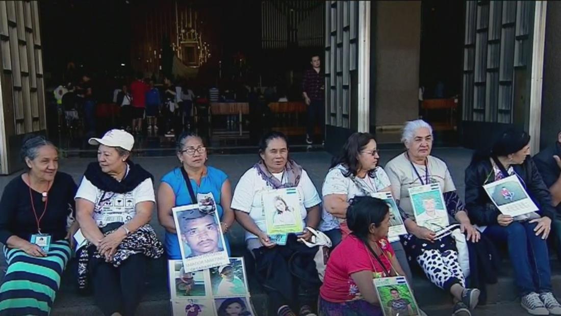 Caravana de madres centroamericanas que buscan a sus hijos desaparecidos llega a Ciudad de México