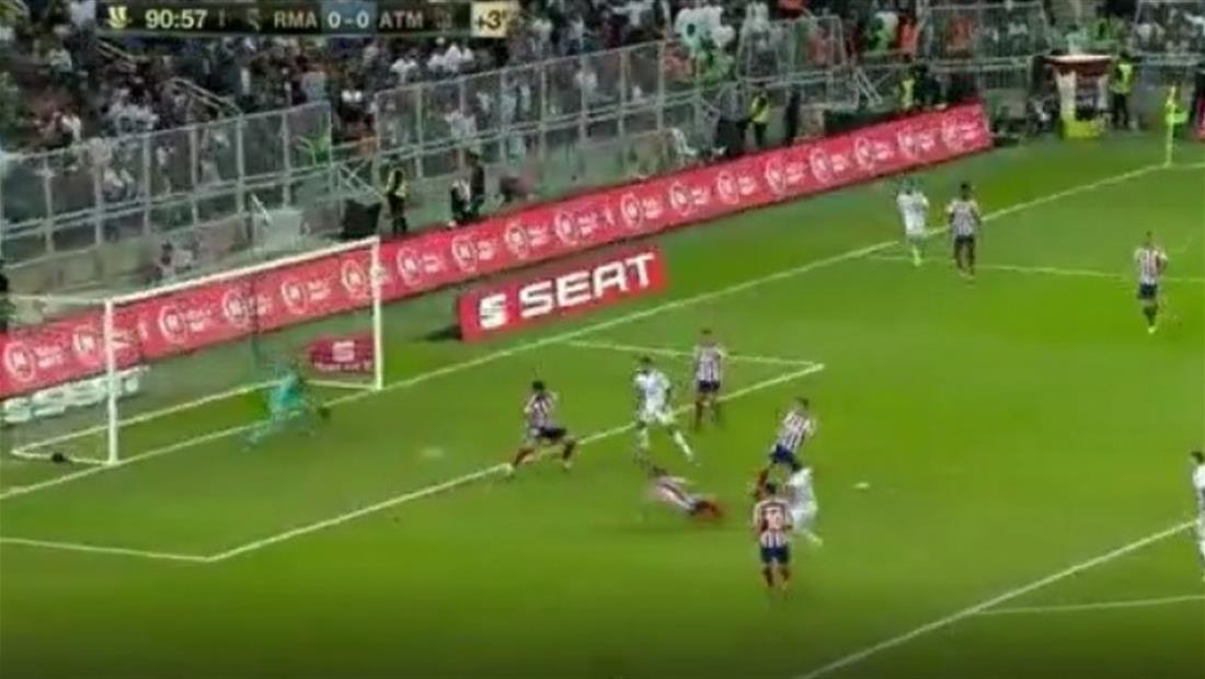 Real Madrid vence al Atlético y es campeón de la Supercopa de España