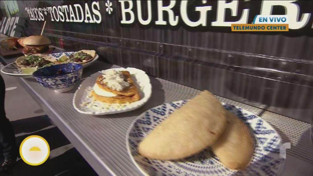 La receta arepas al pastor celebra la unión de la cocina mexicana y venezolana