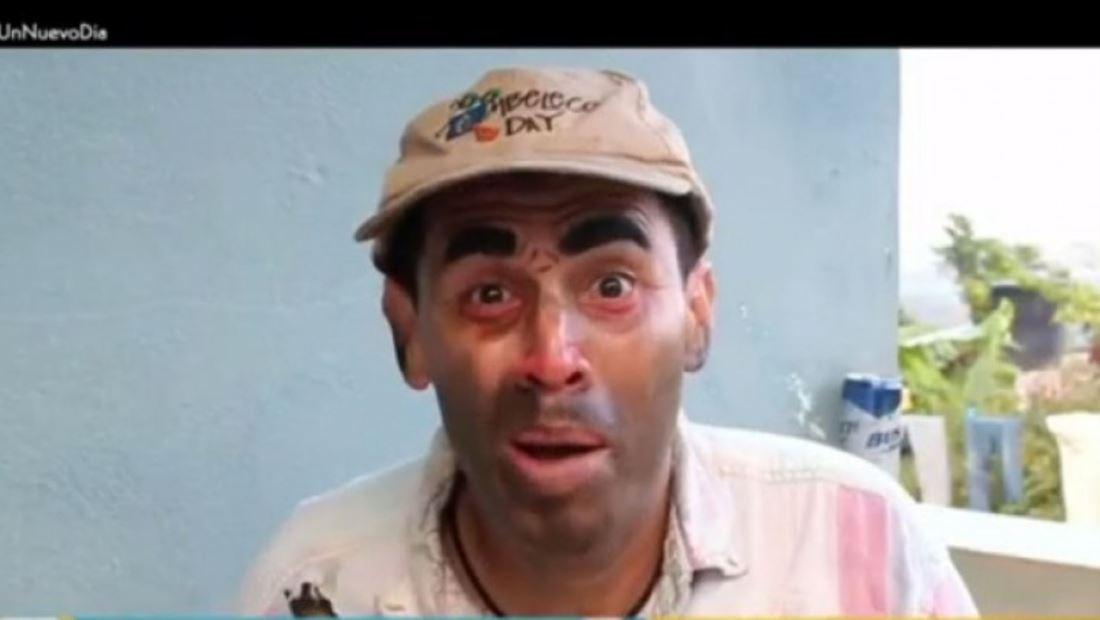 Melvin Comedia sabe hacer reír con su personaje del 'Borracho Mao'