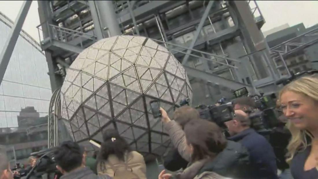 La bola de cristal ya está lista para recibir el 2020 en Times Square